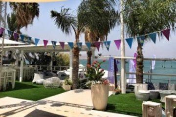 מסיבת חוף פרטי בכנרת
